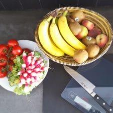 rééquilibrage alimentaire, les quantités