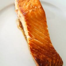 Pavé de saumon teriyaki
