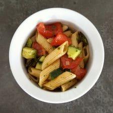Salade de pâtes toute simple