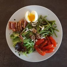 Salade niçoise à ma façon