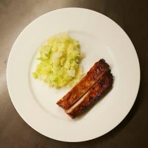 levure de porc marinée soja gingembre