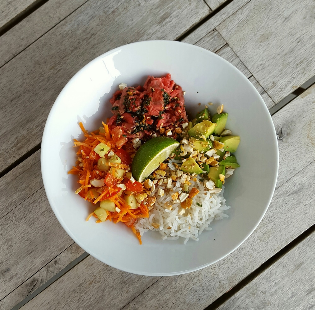 Salade de bœuf aux saveurs thaï