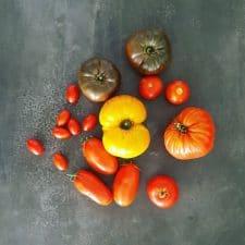 un produit = la tomate