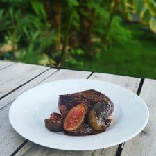 Magret aux figues et paprika