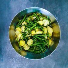 Salade haricots verts – pomme de terre