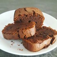 Cake moelleux au chocolat sans gluten