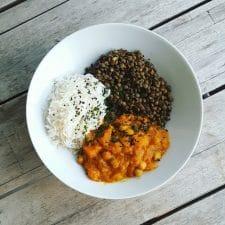 Délicieux curry veggie