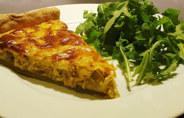 Tarte poulet – curry
