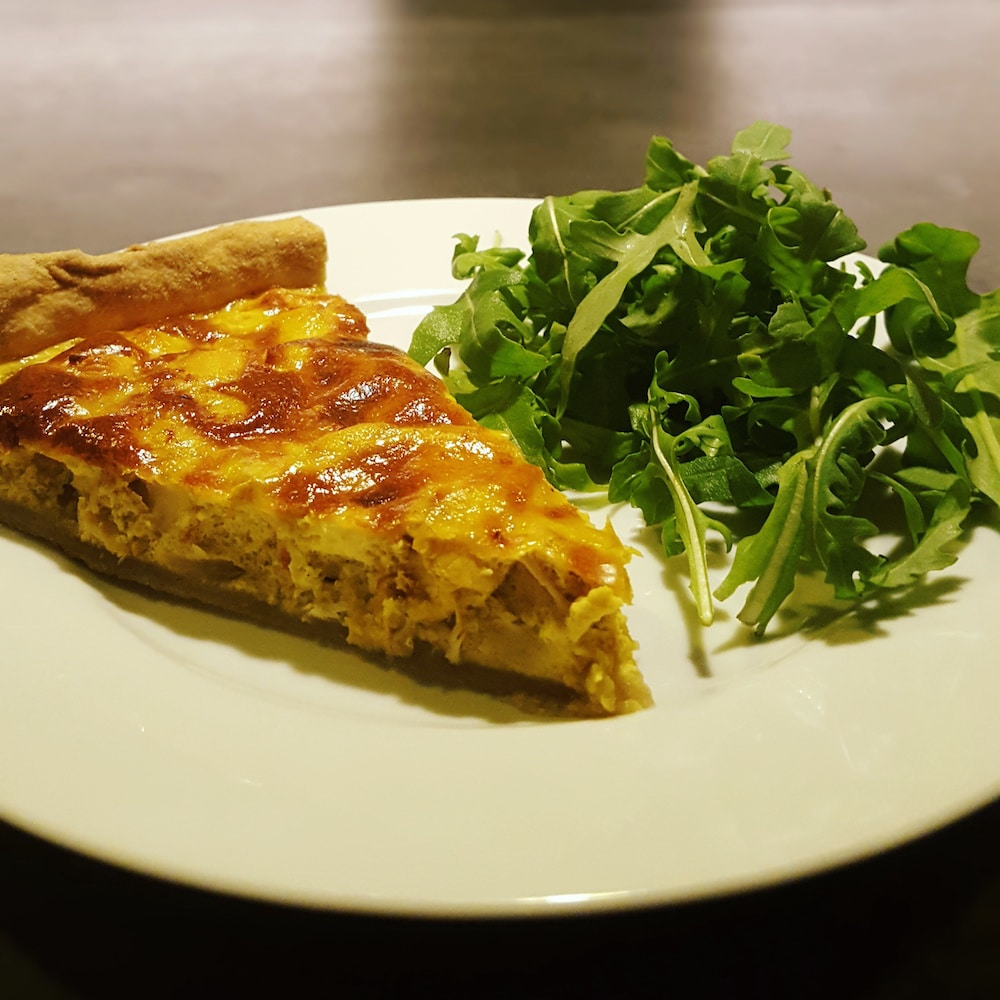 Tarte poulet - curry