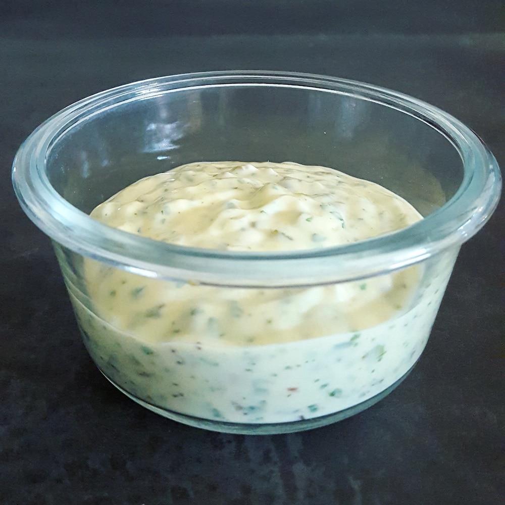 Sauce tartare allégée