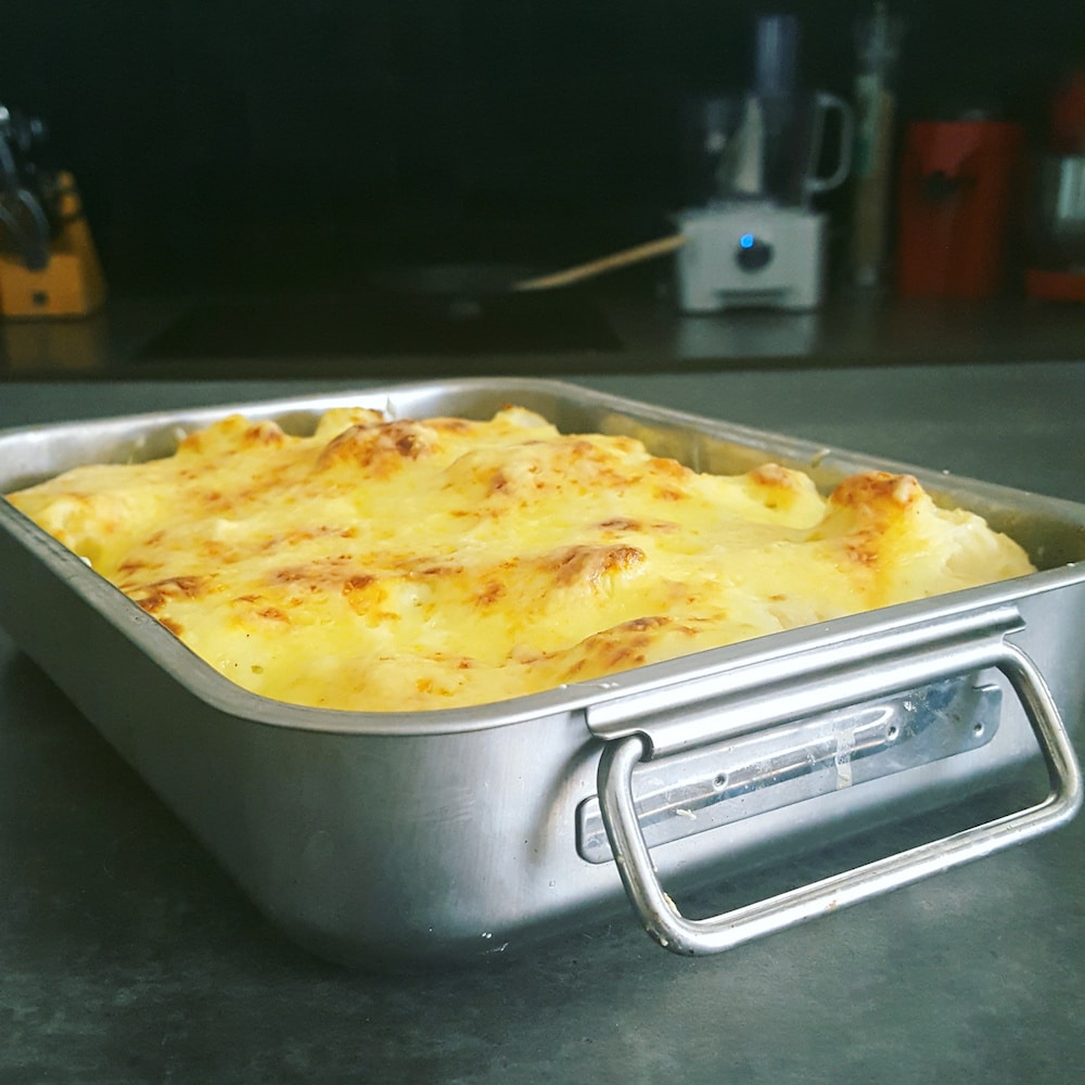 Gratin de chou-fleur sauce Mornay léger et super simple