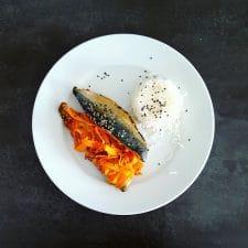 Filets de maquereaux soja-sésame en papillote