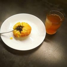 Moelleux coco cœur coulant choco (sans gluten)