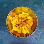 Salade d'agrumes - la cerise sur le maillot