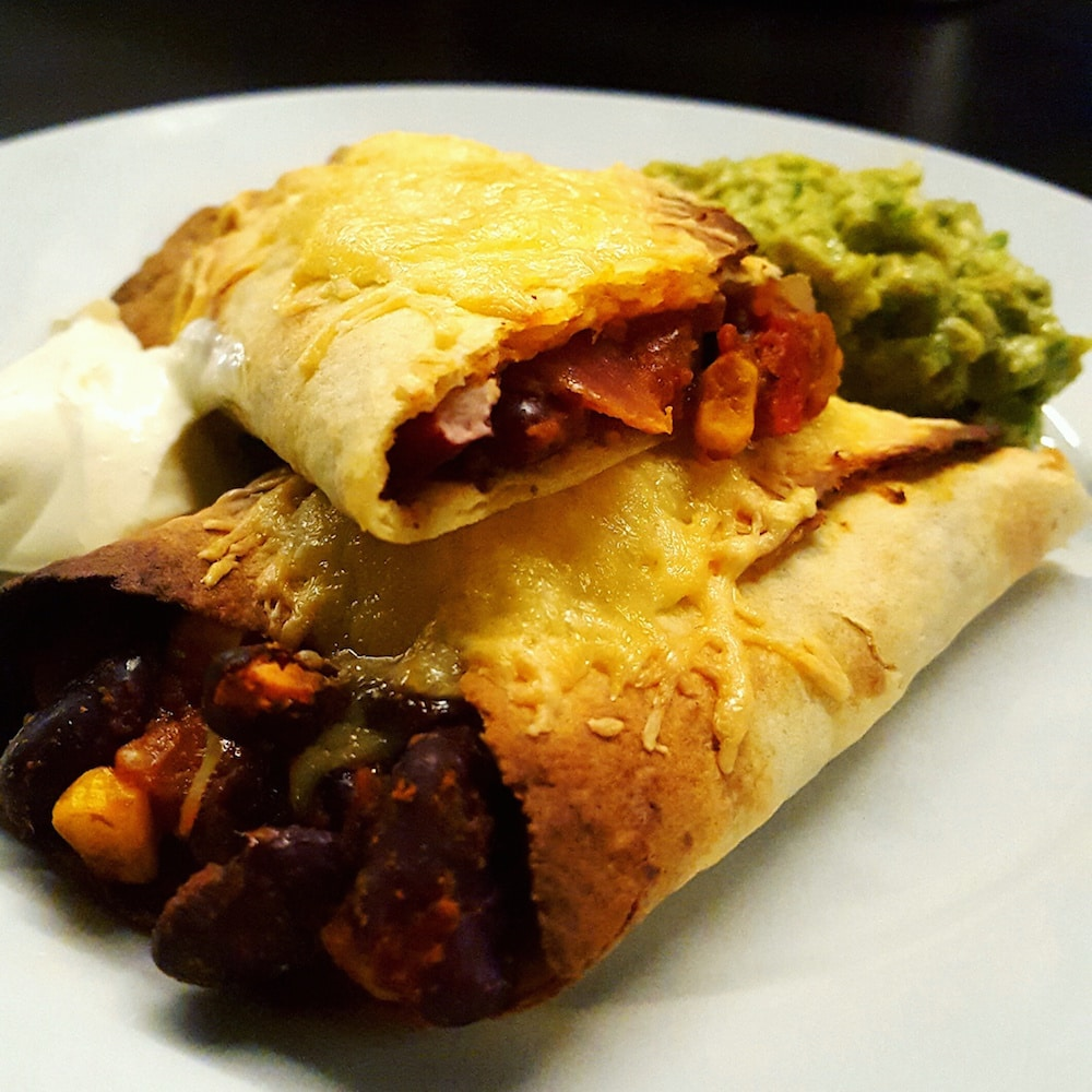 Burritos végétariens