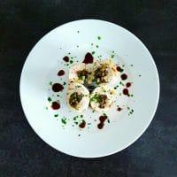 Ballotines de dinde aux champignons et noisettes – réduction de Porto
