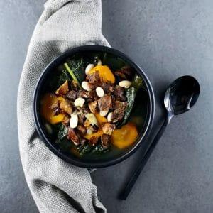 Garbure légère au chou kale - recette de soupe - la cerise sur le maillot