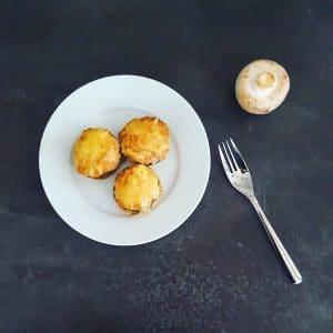 Champignons farcis au thon
