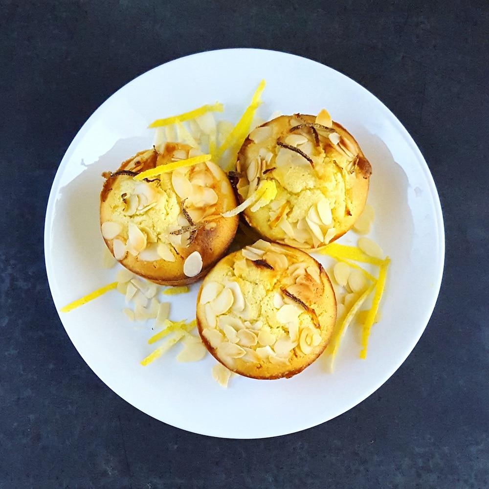 Moelleux amande et citron bien gourmands