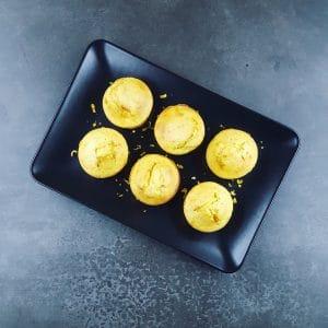 Muffins à la pomme et à la bergamote presque légers