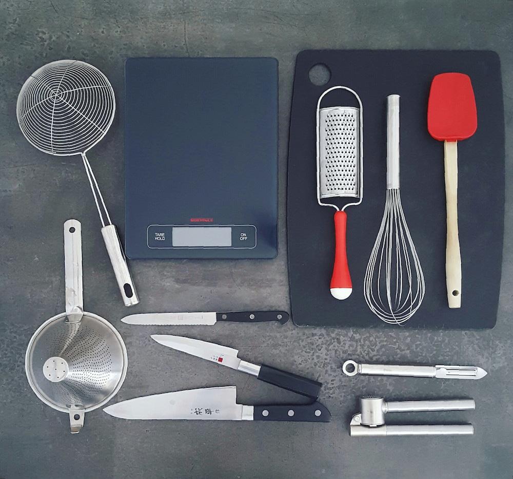 Les 12 ustensiles absolument indispensables dans une cuisine