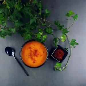 Velouté de butternut et chorizo super gourmand - soupe butternut - la cerise sur le maillot