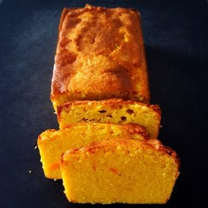 Cake moelleux à l'orange et aux amandes
