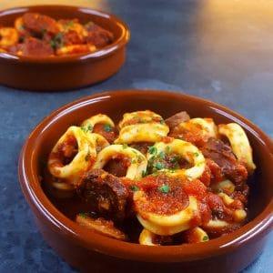 Encornets au chorizo, la recette légère qui fait voyager