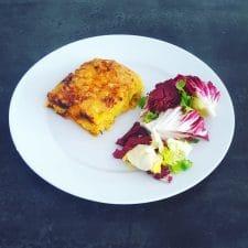 Lasagnes truite-poireau enfants compatibles
