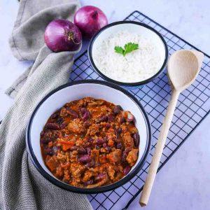 Chili con carne, la recette rapide et légère - la cerise sur le maillot