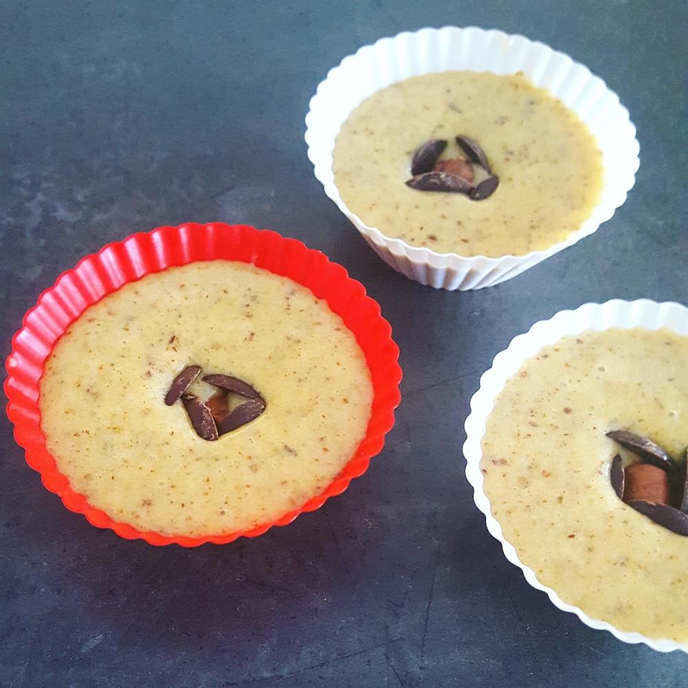 Moelleux noisette-chocolat façon rocher