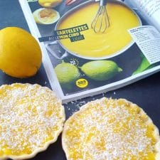 Tartelettes au lemon curd light