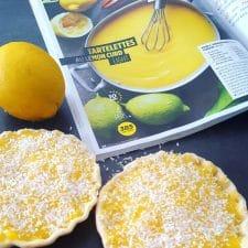 Tartelettes au lemon curd light