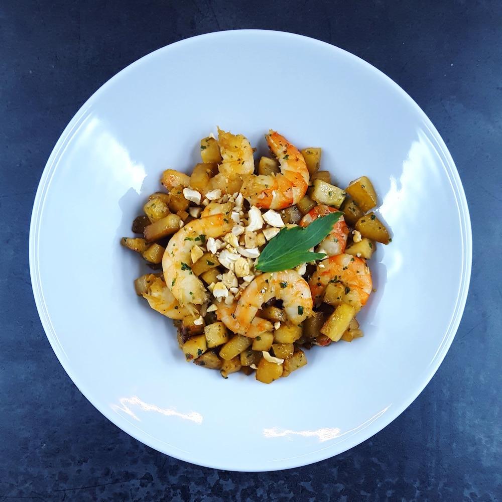 Express d licieux wok minute de chou rave et crevettes - Cuisiner le choux rave ...