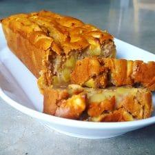 Cake très moelleux aux pommes (végétalien)