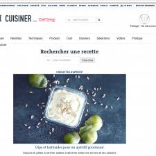 Le Monde x Chef Simon ⎜7.05.2017⎜Dips et tartines pour un apéritif gourmand