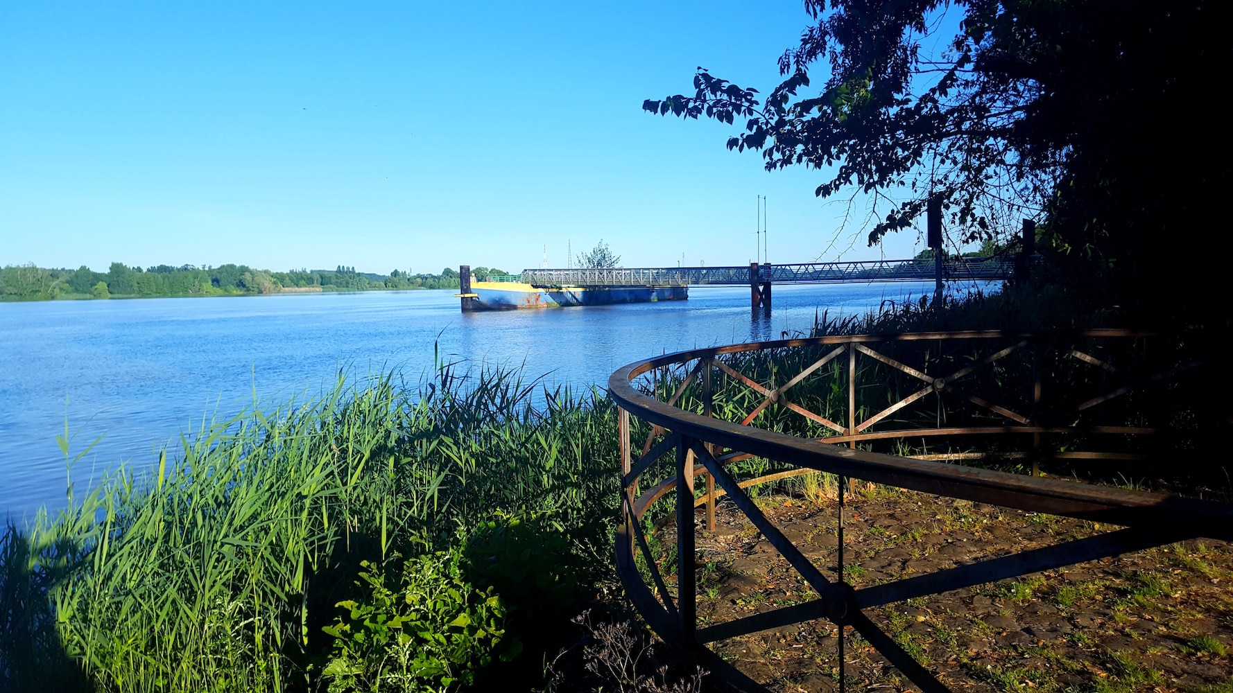 Pavillon Garonne, pour dîner au bord de l'eau
