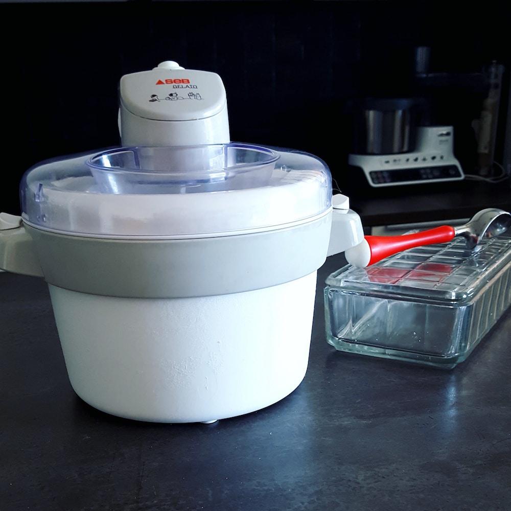 Dans ma cuisine une sorbeti re pour faire des glaces maison - Prix d une sorbetiere ...