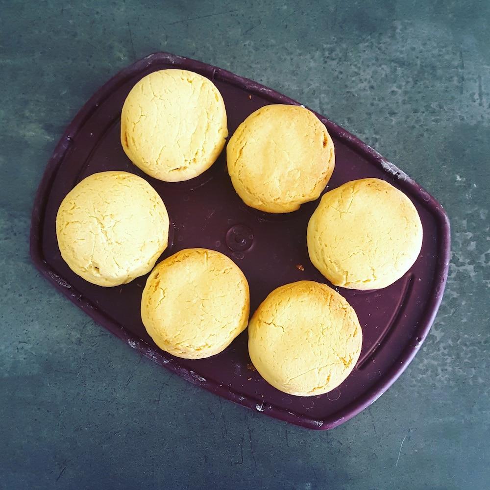 Tartelettes aux fruits, crème pâtissière amande