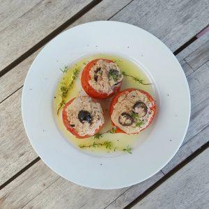 Tomates au thon à la vapeur «Simplissime»