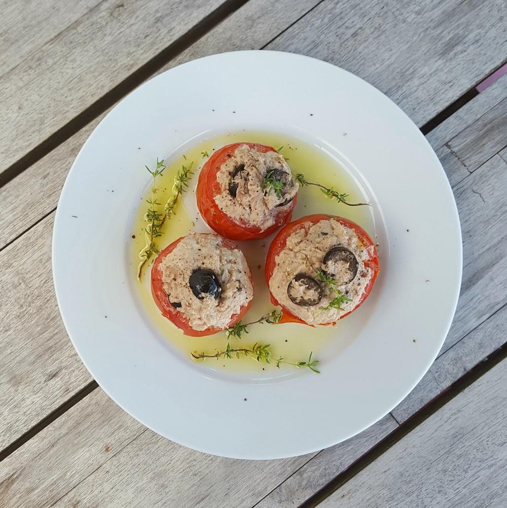 Tomates au thon à la vapeur « Simplissime »
