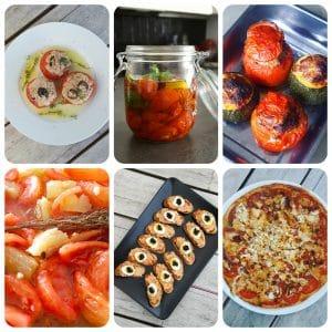 9 recettes avec des tomates