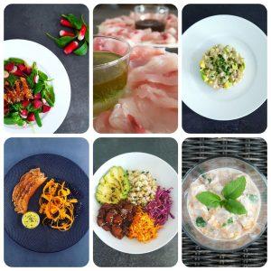 12 recettes de poisson cru