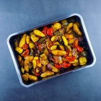 Légumes rôtis aux saveurs orientales