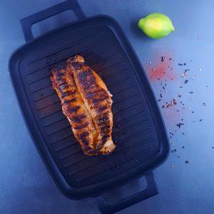 Filet mignon mariné-grillé - la cerise sur le maillot