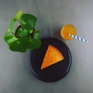 Gâteau au yaourt revisité coco-combava