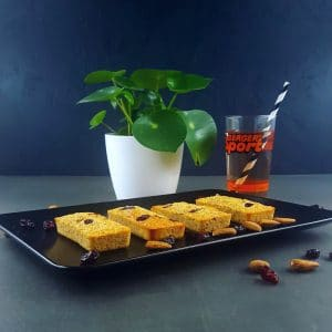 Financiers aux cranberries