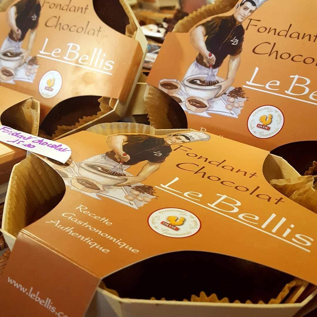 Le fondant au chocolat de Gaëtan Le Bellis