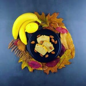 Cake pommes-bananes - gateau sans gluten - la cerise sur le maillot