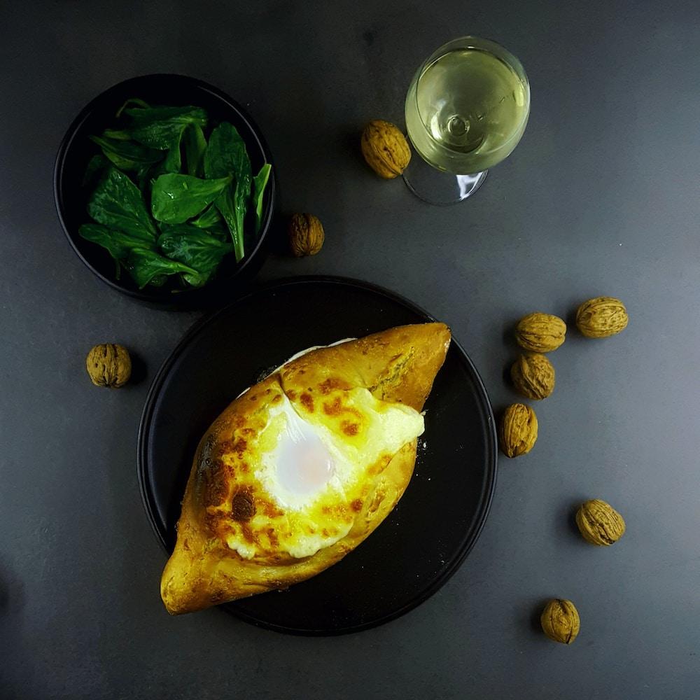 Khachapuri, pain géorgien au fromage